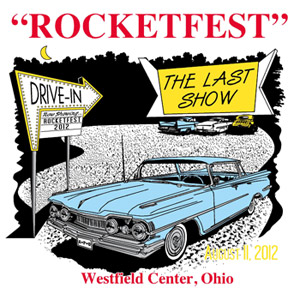 2012 Rocketfest Oldsmobile Car Show