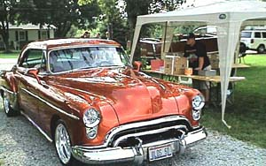 1950 Oldsmobile Holiday - Oldmobile Car Show