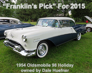 Dale Huefner's 1954 Oldsmobile 98 Holiday