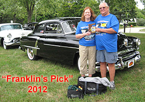Franklin's Pick at 2012 Rocketfest Oldsmobile Car Show