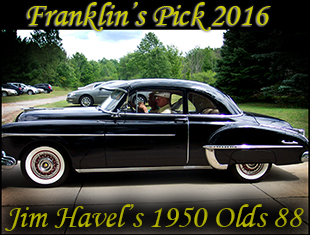 Jim Havels 1950 Black Oldsmobile '88